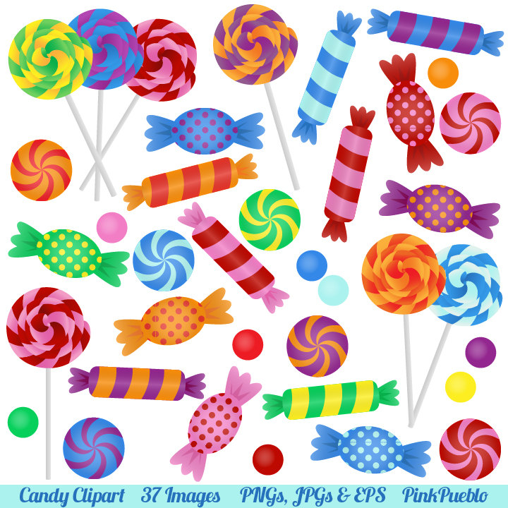 Candy clipart transparent background png free clip art royalty free stock Wrapped colorful candies clipart transparent background border ... clip art royalty free stock