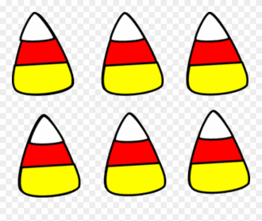 Candy corn clipart free svg transparent stock Free Png Download Halloween Candy Corn Free Images - Small Candy ... svg transparent stock