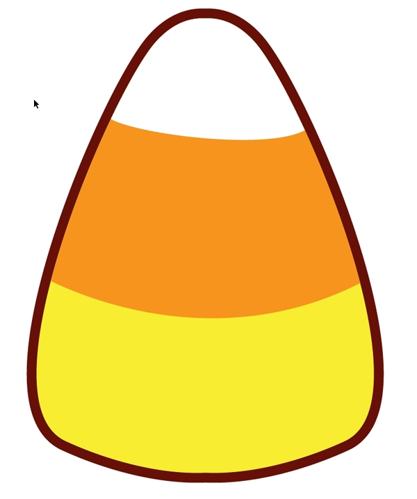 Candy corn clipart free free library Candy corn clipart 2 - ClipartBarn free library