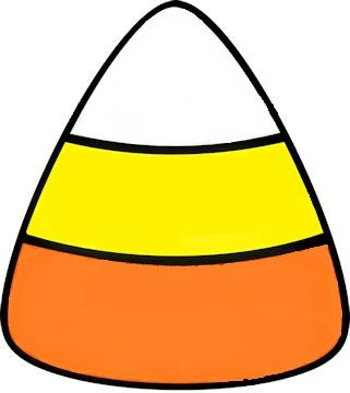 Candy corn rows coloring page clipart freeuse Candy Corn Template | preschool ideas | Candy crafts, Candy corn ... freeuse