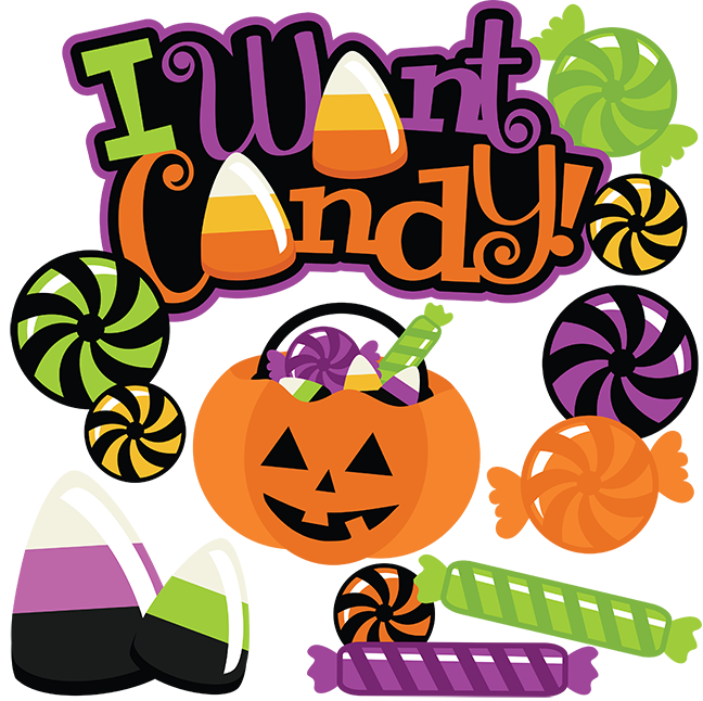 Halloween candy clipart png banner black and white library I Want Candy! SVG cut files halloween svg file halloween svg cuts ... banner black and white library
