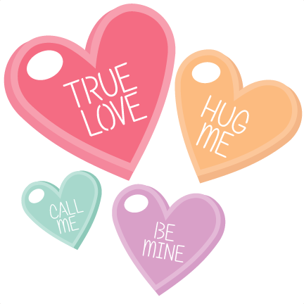 Candy hearts clip art jpg royalty free download Candy hearts clip art - ClipartFest jpg royalty free download