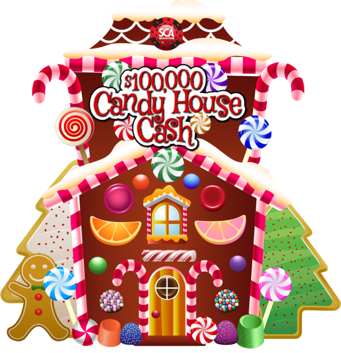 Candy house clipart picture library Candy House Cash - SCA Gaming picture library