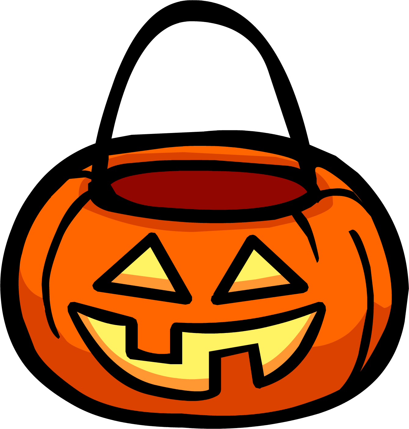 Pumpkin candy clipart png svg library library Pumpkin Basket | Club Penguin Rewritten Wiki | FANDOM powered by Wikia svg library library