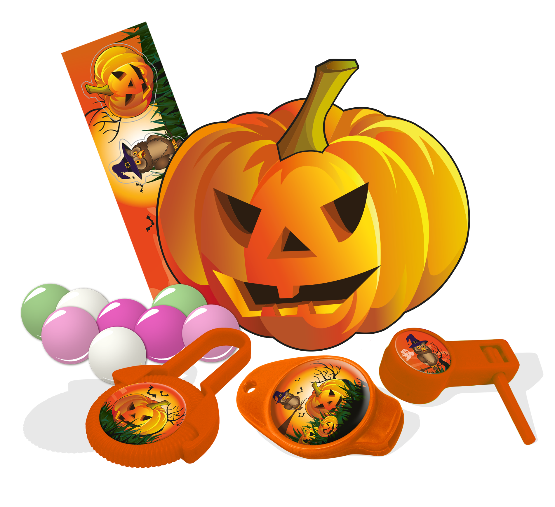 Halloween candy clipart png png black and white download Halloween Candy Pumpkin Piece - BIP Candy & Toy png black and white download