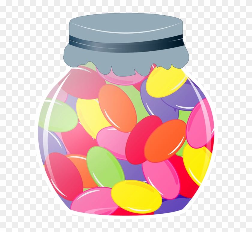 Candy jar clipart picture royalty free Candy Jar Png - Jelly Bean Jar Clipart, Transparent Png - 640x697 ... picture royalty free
