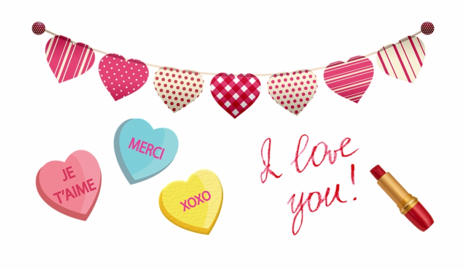 Candy love clipart clip art royalty free library Valentine Clip Art Hearts Candy Love Romance - Love You My Boyfriend ... clip art royalty free library
