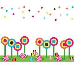 Candyland border clipart graphic freeuse 25+ Candy Clip Art Border Landscape Pictures and Ideas on Pro Landscape graphic freeuse