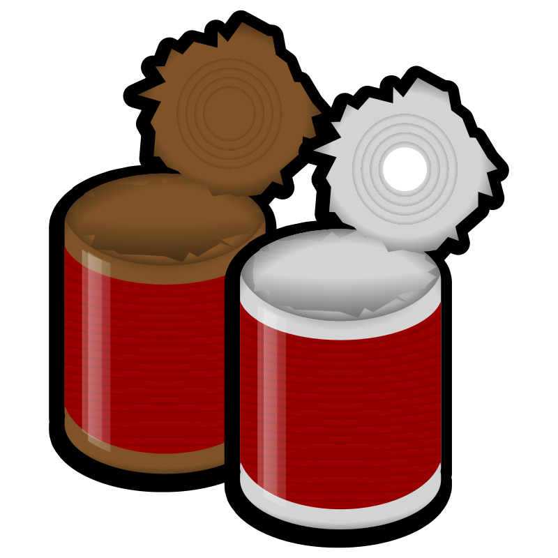 Canned cat food clipart picture library stock Free Canned Food Pictures, Download Free Clip Art, Free Clip Art on ... picture library stock