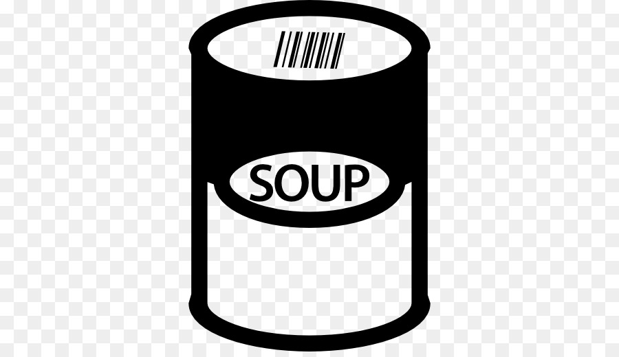 Canned soups clipart black and white Tomato Cartoon png download - 512*512 - Free Transparent Campbells ... black and white