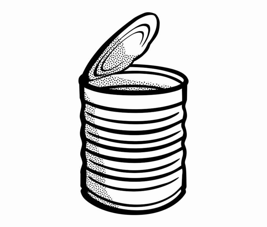 Canned soups clipart svg library Campbell\'s Soup Cans Tin Can Beverage Can Metal Can - Clip Art Can ... svg library