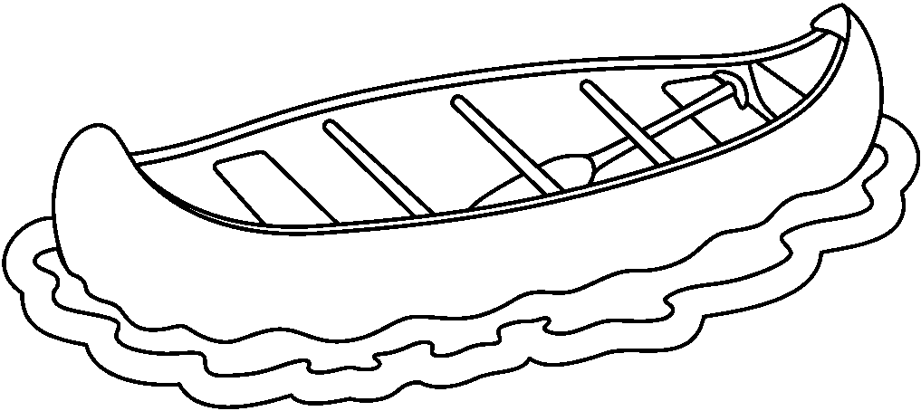 Canoe clipart black and white banner royalty free Free Canoeing Cliparts, Download Free Clip Art, Free Clip Art on ... banner royalty free
