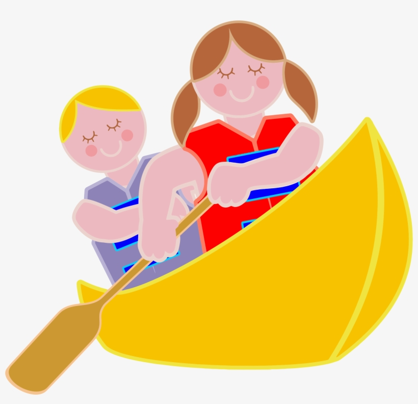 Canoing clipart png transparent Row Boat Clipart Canoe - Free Clip Art Of Rowing - Free Transparent ... png transparent