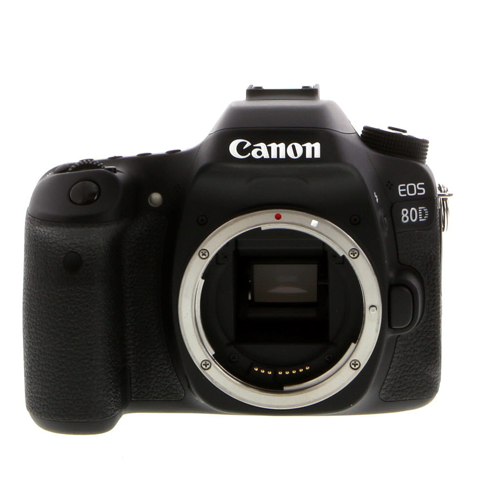 Canon eos 80d clipart graphic freeuse library Canon EOS 80D (W) Digital SLR Camera Body {24.2 M/P} - With Battery and  Charger - Excellent Plus graphic freeuse library