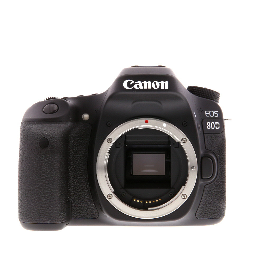 Canon eos 80d clipart clip art transparent stock Canon EOS 80D (W) Digital SLR Camera Body {24.2 M/P} - With Battery and  Charger - Excellent Plus clip art transparent stock