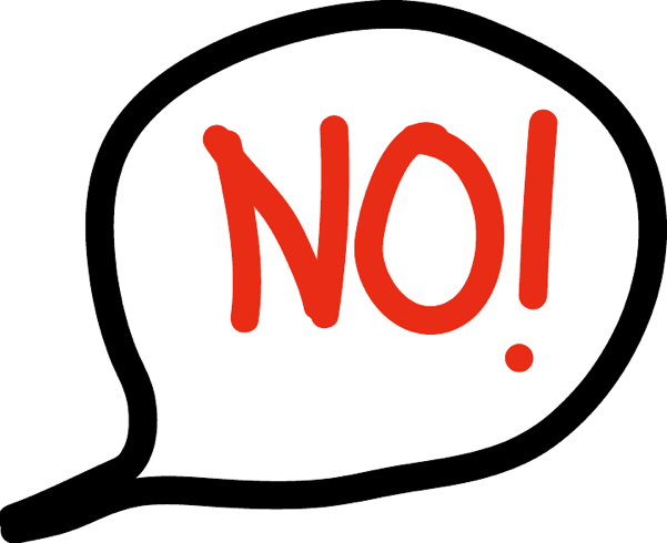 Cant say no clipart svg free 106: Why You\'re Inability to Say No is Annoying to Others ... svg free