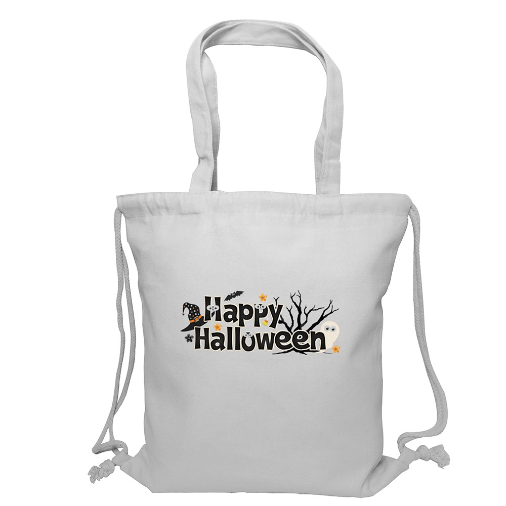 Canvas bag clipart banner library stock Happy Halloween Clipart Women\'s Drawstring Bag Tote Bags Canvas banner library stock