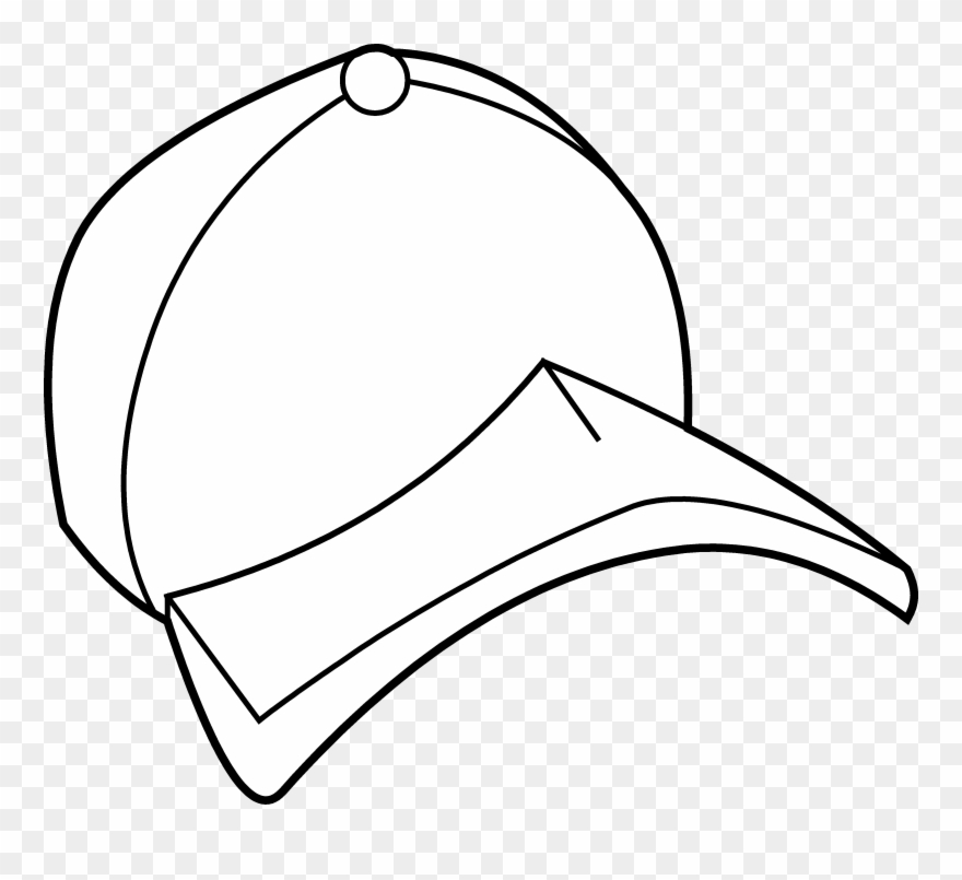 Cap coloring pages clipart clip royalty free download Baseball Hat Baseball Cap Coloring Page Free Clip Art - Baseball Cap ... clip royalty free download