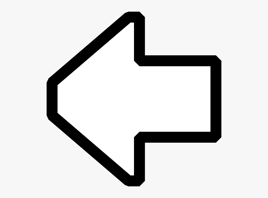 White arrow clipart icon clip black and white download Free Vector X Px Capable Black And White Icons Clip - Left Arrow ... clip black and white download