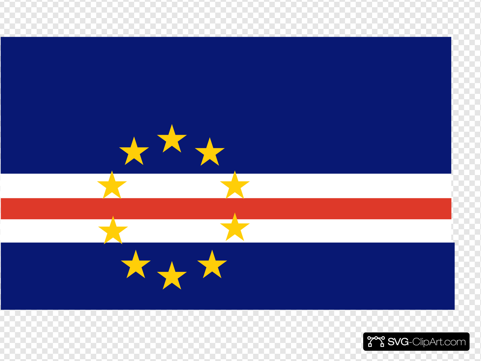 Cape verde clipart clip art royalty free Flag Of Cape Verde Clip art, Icon and SVG - SVG Clipart clip art royalty free