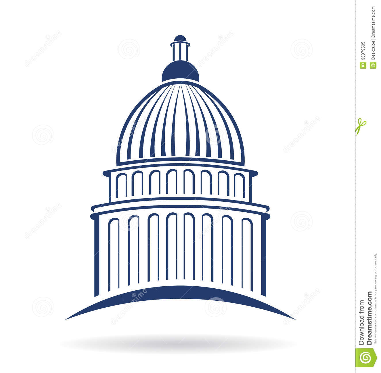 Capitol building clipart png banner transparent library Capitol building clip art - ClipartFest banner transparent library