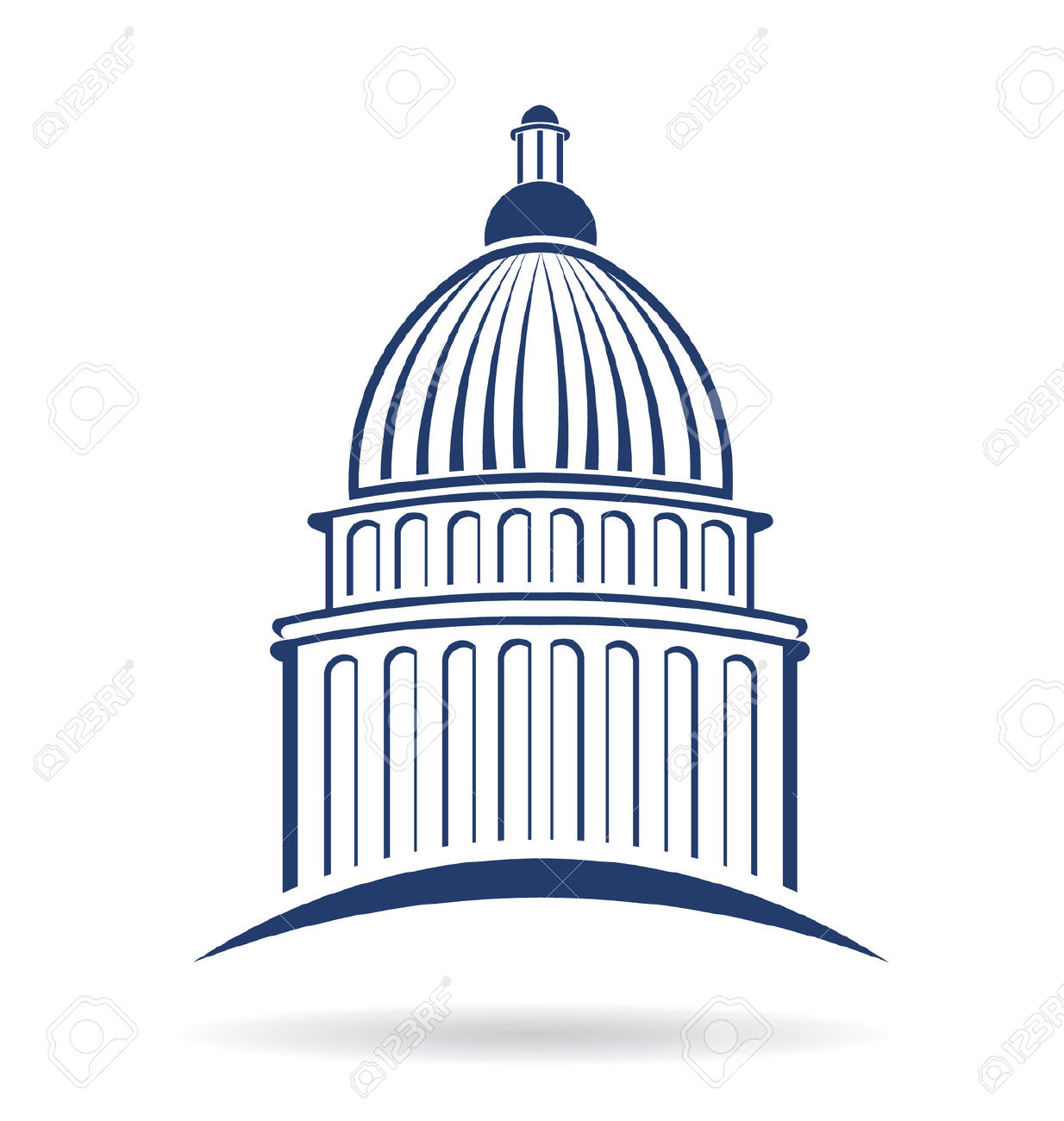 Capitol building clipart png clipart freeuse Capitol building clipart free - ClipartFox clipart freeuse