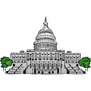 Capitol building clipart png png transparent Capitol building clip art - ClipartFest png transparent