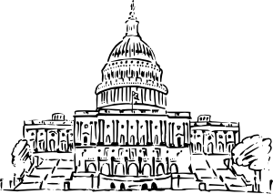 Capitol building clipart png picture freeuse stock Us Capitol Building Inkpen Style Clip Art at Clker.com - vector ... picture freeuse stock