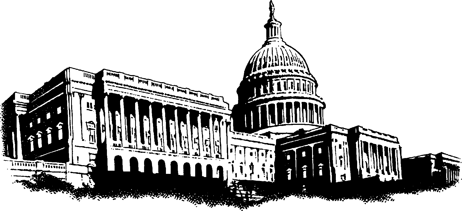 Capitol building clipart png jpg black and white library Us capitol building clipart - ClipartFest jpg black and white library