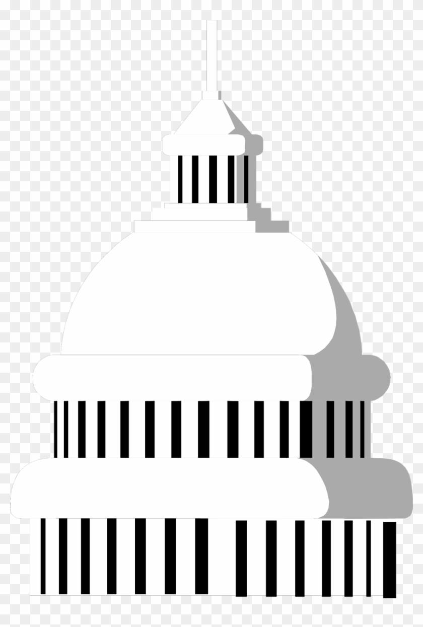 Us capitol building clipart