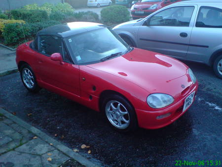 Cappuccino car graphic download Suzuki Cappuccino SOLD (1995) on Car And Classic UK [C08630] graphic download