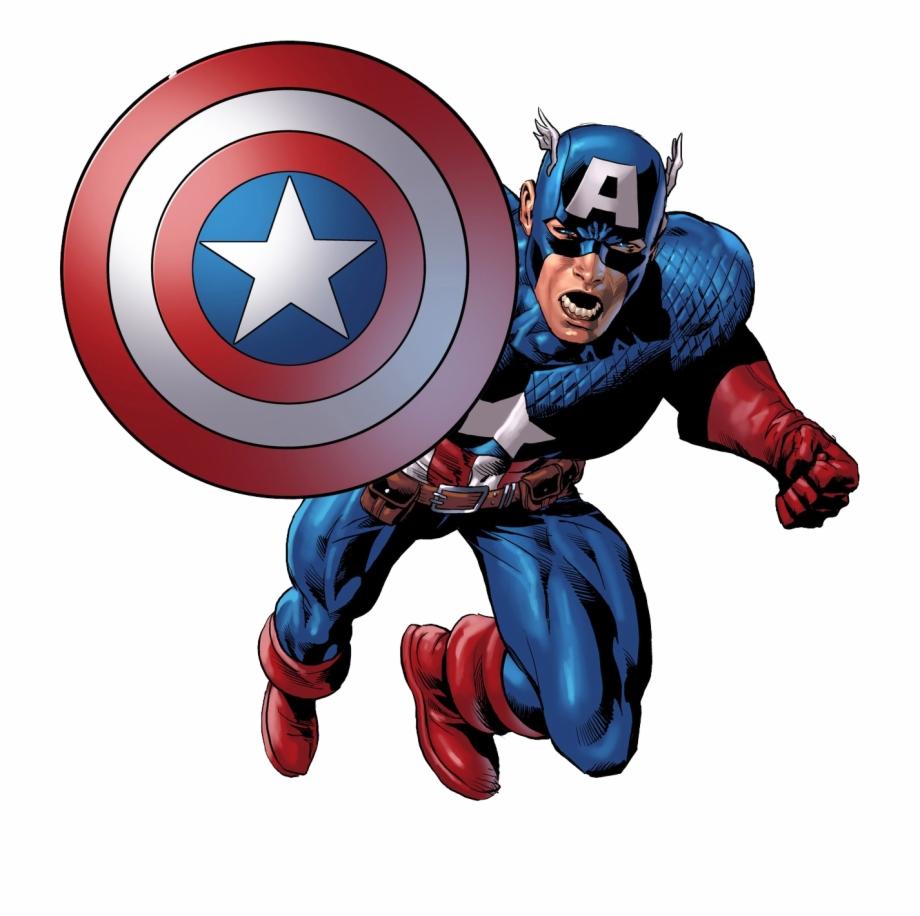 Captain america cartoon clipart jpg royalty free library Head Clipart Captain America - Captain America Clipart Png Free PNG ... jpg royalty free library