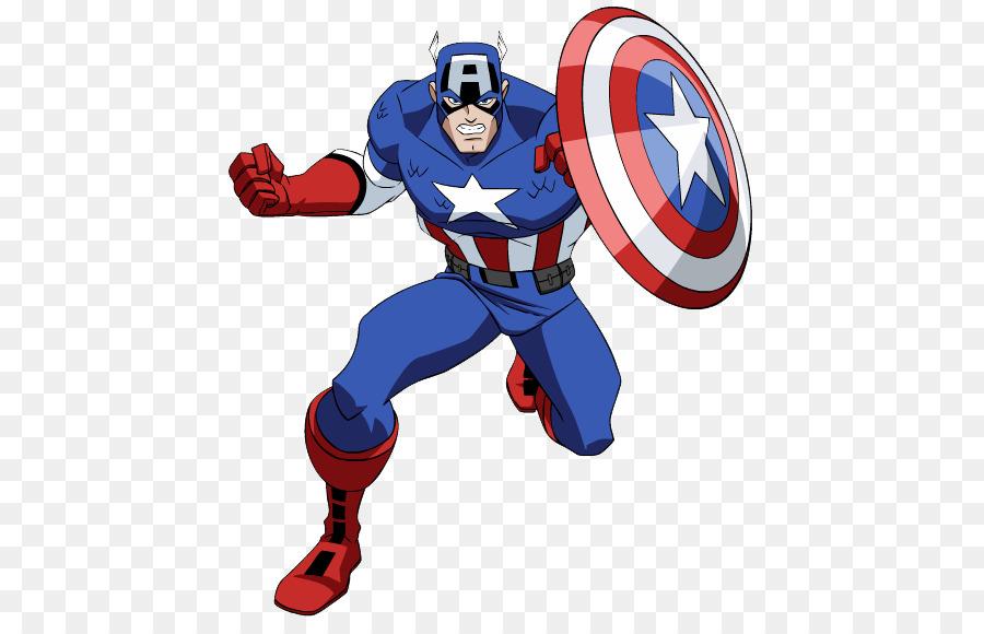 Captain america cartoon clipart jpg transparent download Captain Marvel Cartoon png download - 496*573 - Free Transparent ... jpg transparent download