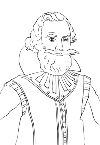 Captain john smith clipart png transparent John Smith coloring page | Free Printable Coloring Pages png transparent