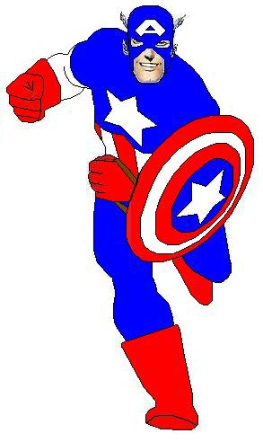 Captain marvel clipart graphic free library Marvel captain america clipart - ClipartFox graphic free library
