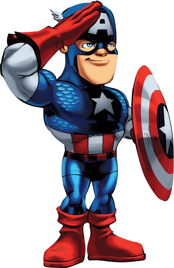 Captain marvel clipart picture free library captain america cartoon - Free Large Images | Alliance Kids Klub ... picture free library