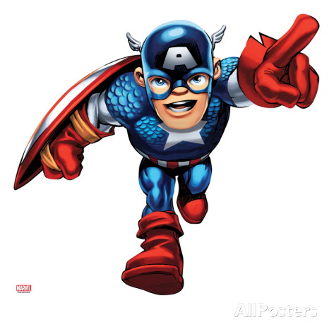 Captain marvel clipart royalty free Marvel Super Hero Clipart - Clipart Kid royalty free