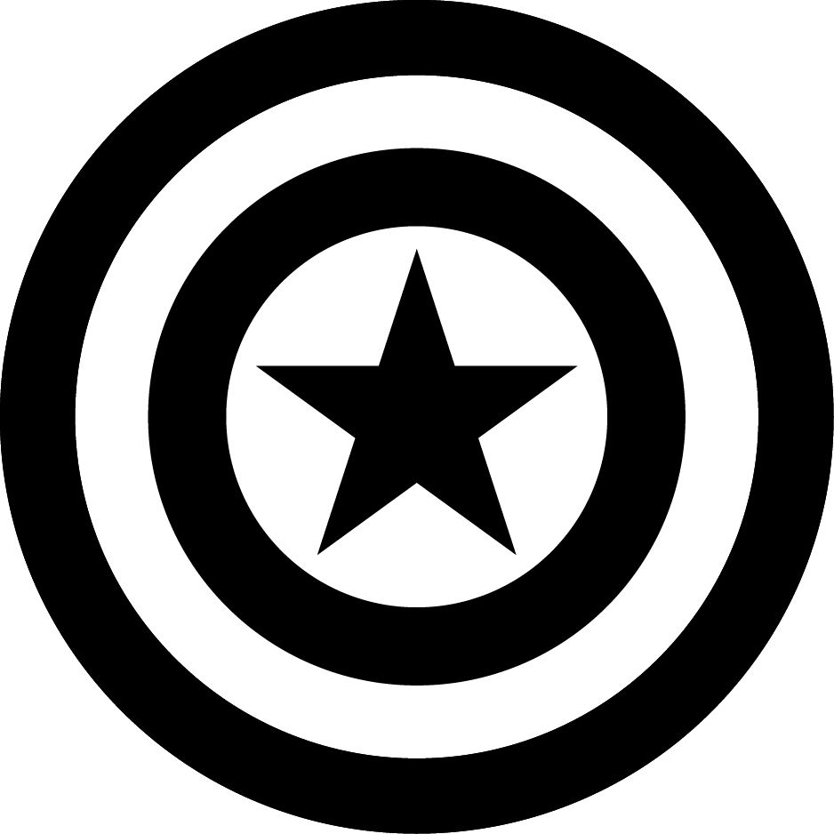 Captain marvel logo clipart png library captain-america-logo.bmp (1600×1064) | emblems | Pinterest png library