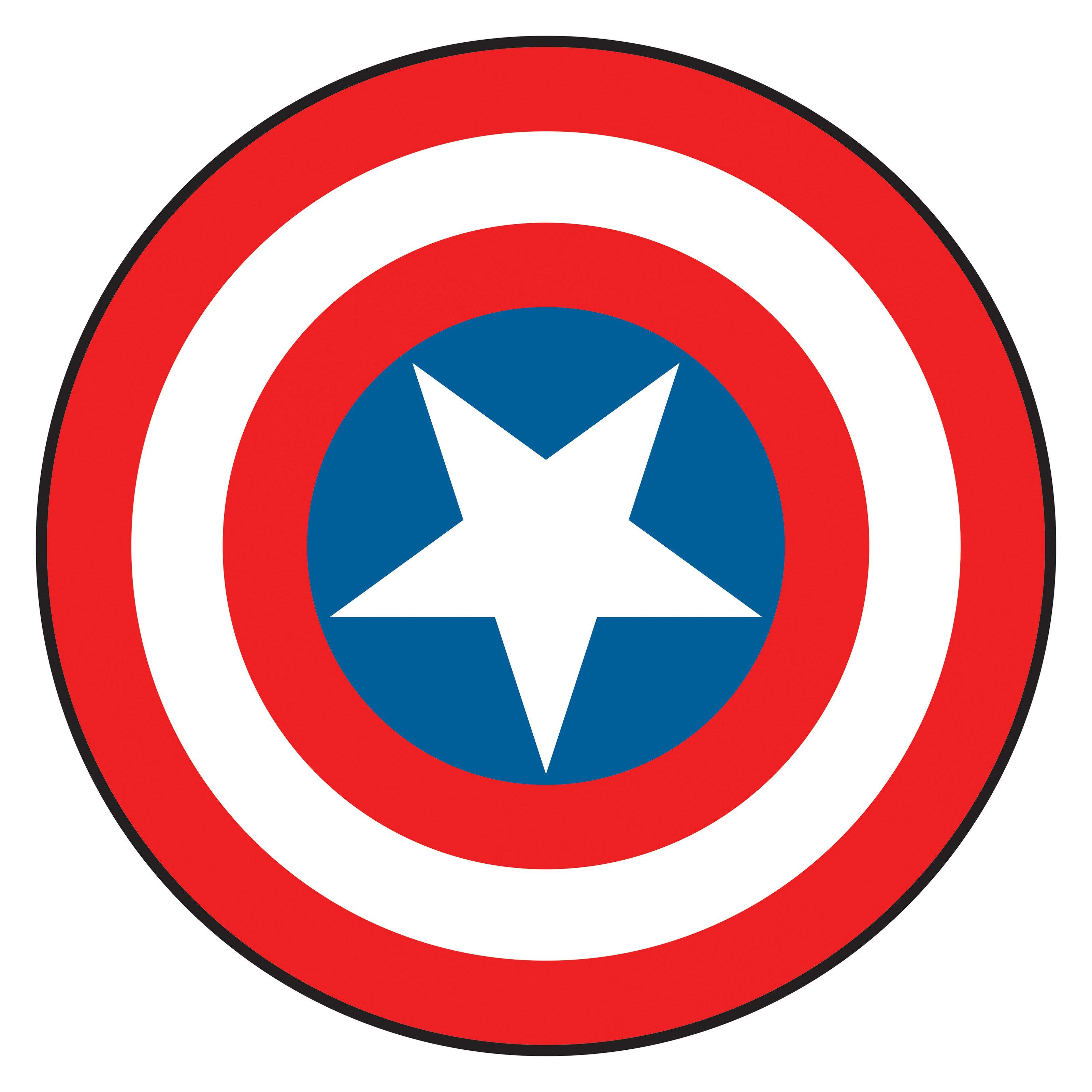 Captain marvel logo clipart image transparent Captain america logo clip art - ClipartFest image transparent
