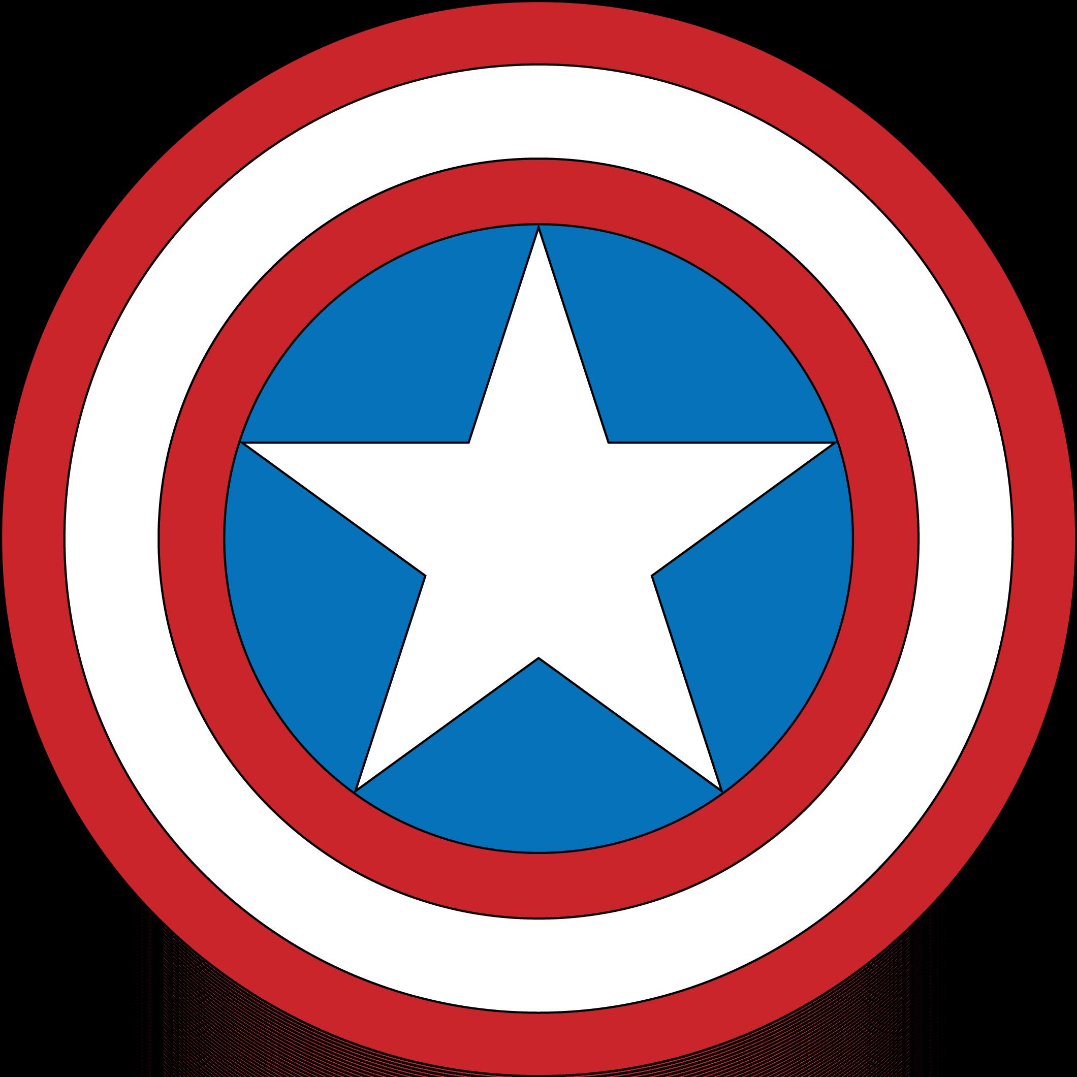 Captain marvel logo clipart clip library Captain america logo clipart - ClipartFest clip library