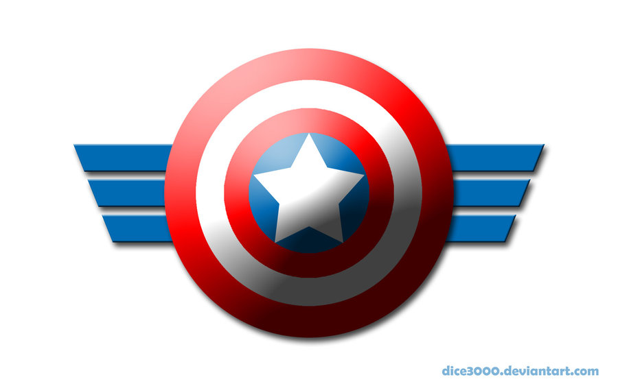 Captain marvel logo clipart png royalty free Captain America Logo Clipart - Clipart Kid png royalty free