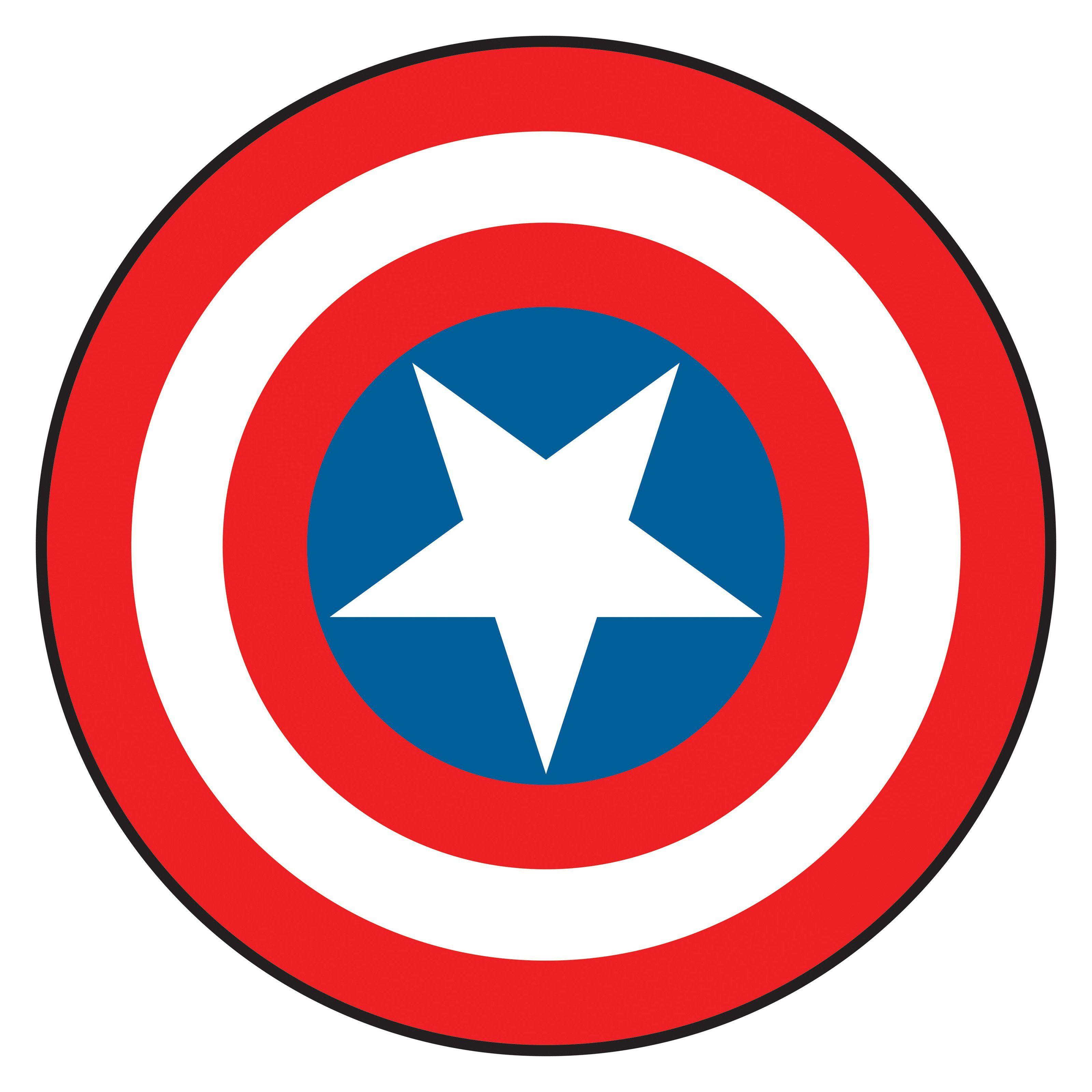 Captian americas sheild clipart jpg black and white Captain America Shield Clipart #1 | ConstCo | Captain america logo ... jpg black and white