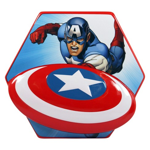Captian americas sheild clipart clipart black and white download Marvel Captain America Shield Coin Bank clipart black and white download