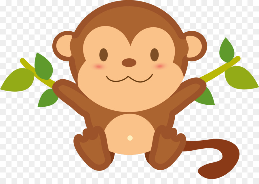 Capuchin monkey clipart vector transparent library Free Monkey Clipart Transparent Background, Download Free Clip Art ... vector transparent library