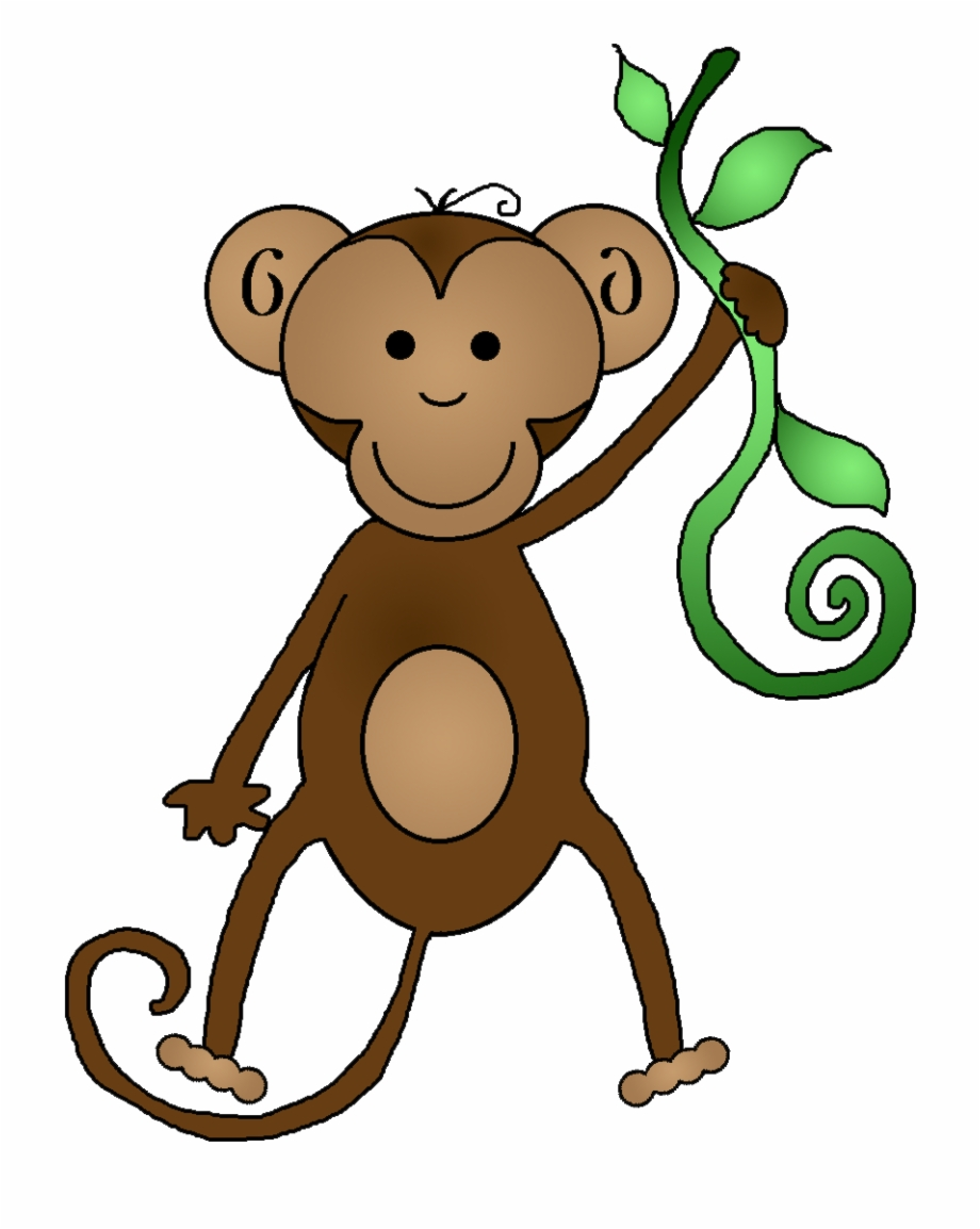 Capuchin monkey clipart png Funny Monkey Cliparts - Free Clip Art Monkey {#499756} - Pngtube png