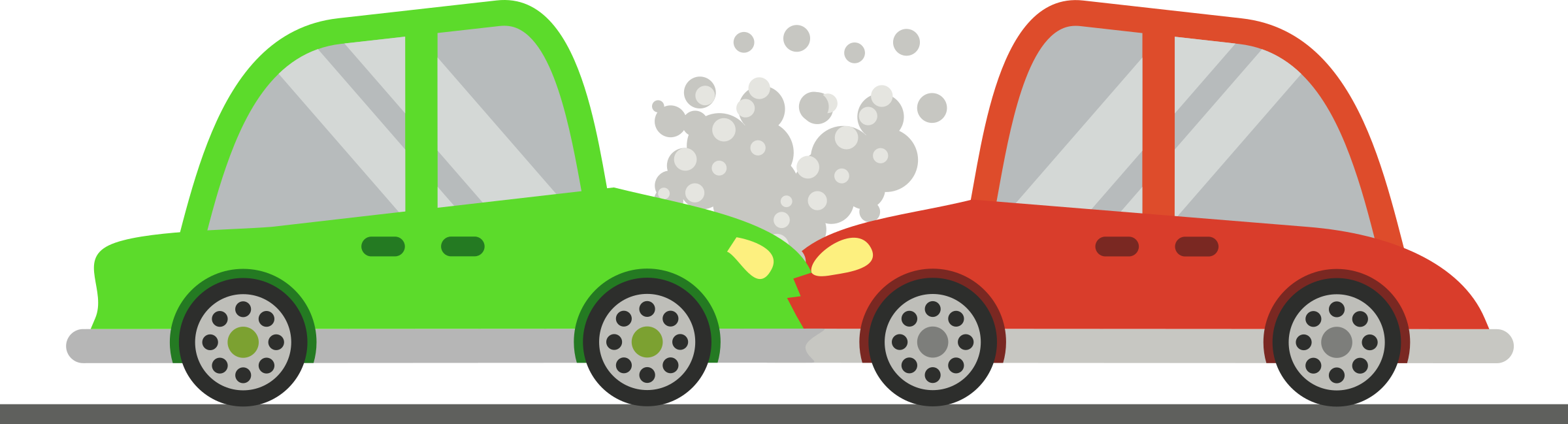 Car on the road clipart free stock Clipart - Two Cars Crash free stock