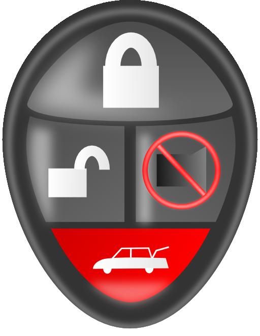 Car alarm clipart svg transparent download Car Alarm Remote Clipart | i2Clipart - Royalty Free Public Domain ... svg transparent download