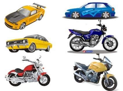 Car and bike clipart image freeuse download Vector Car clip arts, clip art - ClipartLogo.com image freeuse download