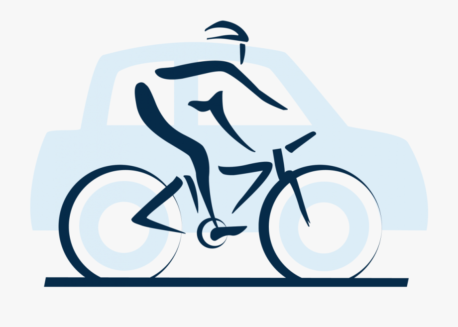 Car and bike clipart image freeuse Cycling Clipart Car Bike - Mountain Bike #68544 - Free Cliparts on ... image freeuse