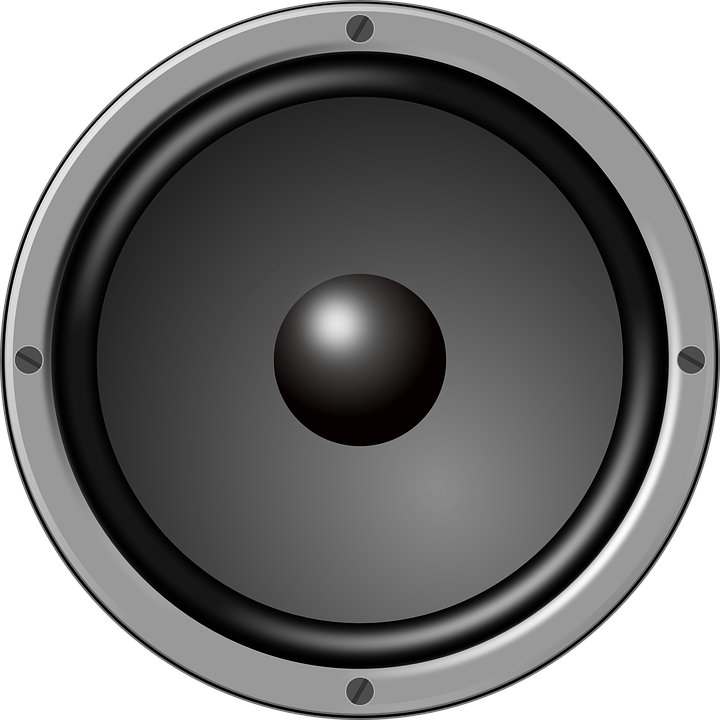 Car audio clipart graphic black and white library Large Loudspeaker transparent PNG - StickPNG graphic black and white library